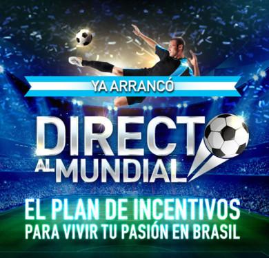 Camino al Mundial – Incentivo Direct TV