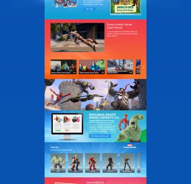 Disney Latam – Soporte Creativo